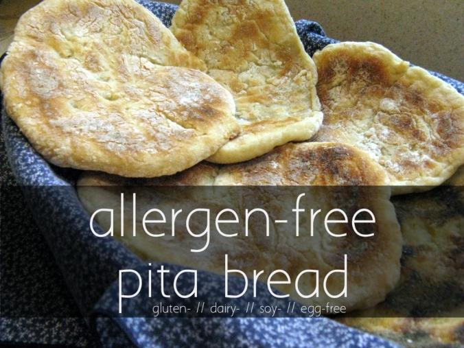 allergen-free pita - title